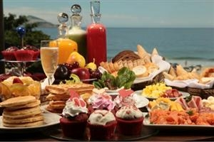 Maroa Frühstück am Meer