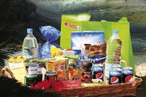 Velkomstpakke med mat