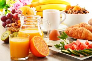 Breakfast at Puerto Vista or La Cascada