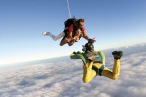 Tandem fallskjermhopp