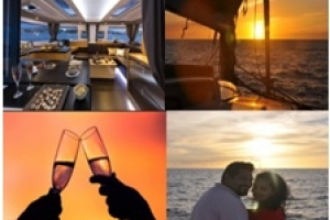 Elsie One Katamaran– Kreuzfahrt zum Sonnenuntergang