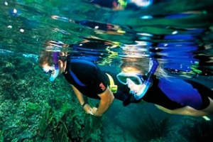 Snorkel dykking båttur
